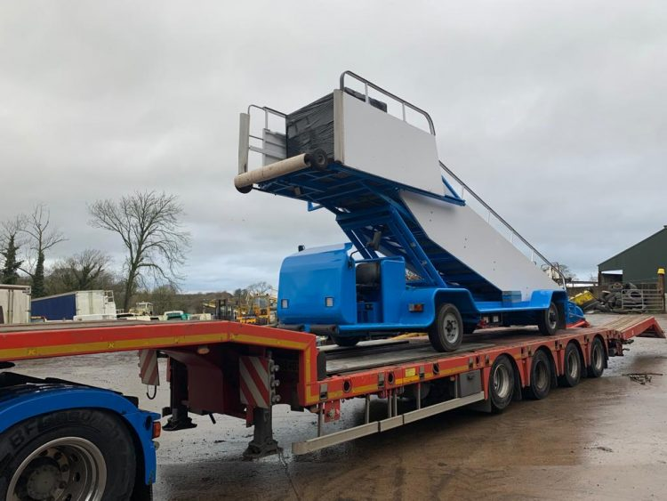 Yet another item of our Aircraft Ground Support Equipment being transported to South Sudan  We ship all our items worldwide Contact McIvor Aviation for more information.